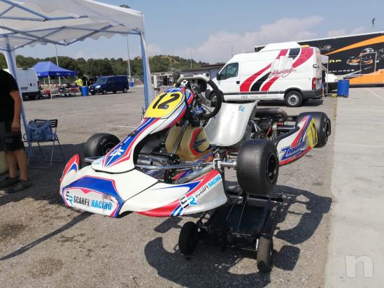 Kart Zanardi con motore Rotax junior foto-21601