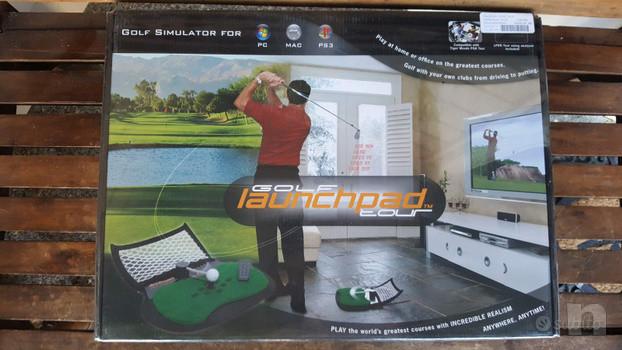 golf simulatore professionale LAUNCHPAD foto-21680