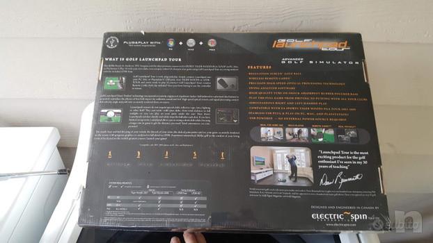 golf simulatore professionale LAUNCHPAD foto-42603