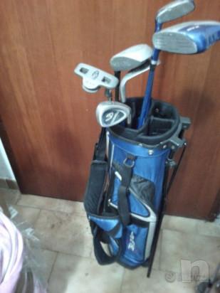 Golf sacca mazze e putter per bambino ragazzo foto-21681