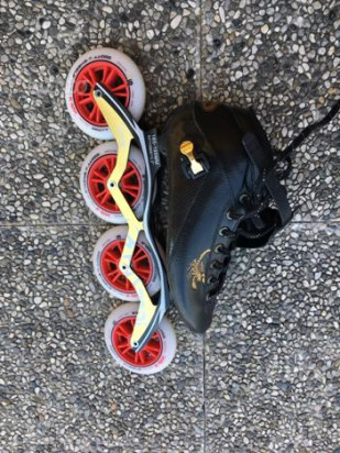 Pattini professionali inline speed skates foto-42903