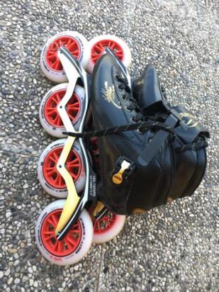 Pattini professionali inline speed skates foto-42901