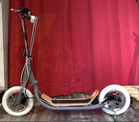 Monopattino elettrico Nito N1e N1 made in Italy ruote con camera d'aria Nuovo foto-21835