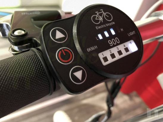 Monopattino elettrico Nito N1e N1 made in Italy ruote con camera d'aria Nuovo foto-42924