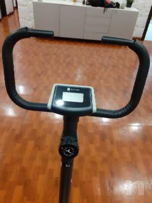 Vendo ciclette piu' 2 dischi da 5kg foto-42988