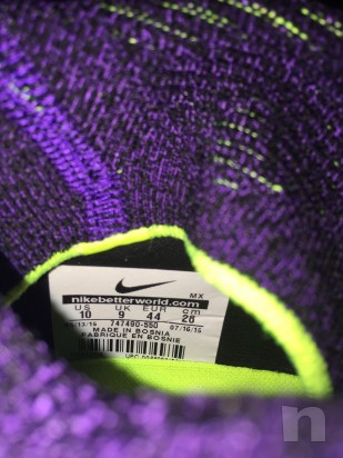 Nike Hypervenom Phantom II Viola AG 44 nuove foto-3747