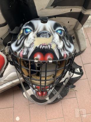 Casco portiere hockey foto-22082