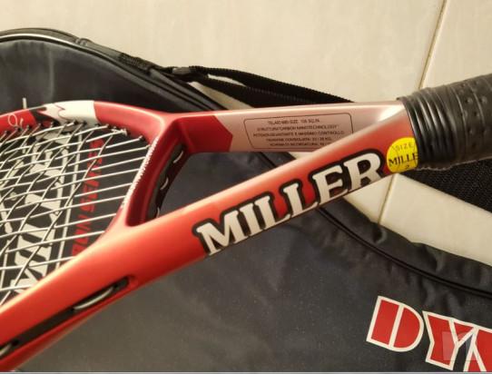 Racchetta tennis MILLER CARBON SERIES foto-43420
