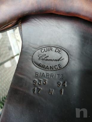 Sella devocoux Biarritz misura 17, testa di moro foto-43578