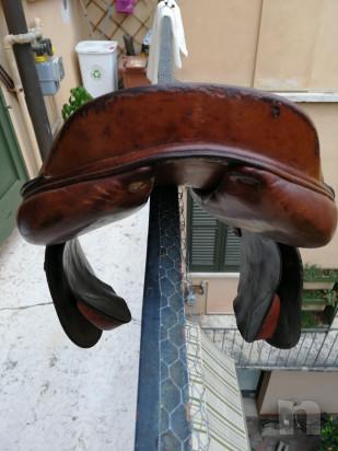 Sella devocoux Biarritz misura 17, testa di moro foto-43579