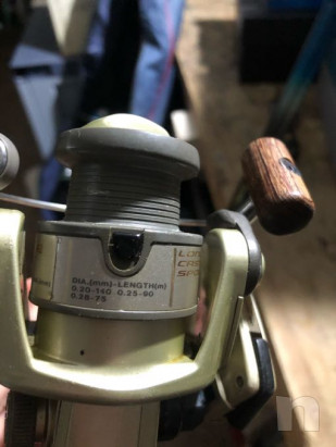 Mulinello daiwa Line roller con canna ranger foto-22211
