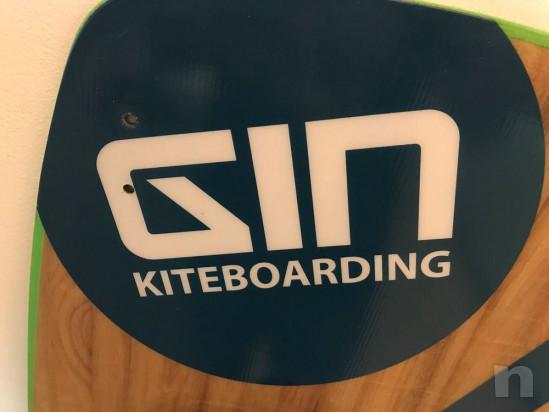 Fixation GIN kiteboard et shinn - 140 cm foto-43663