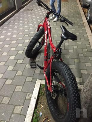Fat bike KHS 1000 mtb taglia L ruote 26 rossa foto-3787
