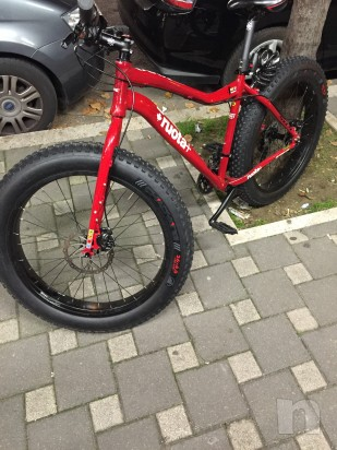 Fat bike KHS 1000 mtb taglia L ruote 26 rossa foto-2224