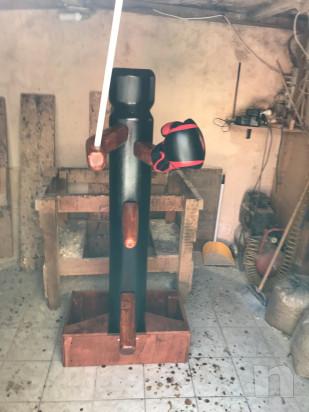 Woodendummy Kravmaga Uomo di legno  foto-43780