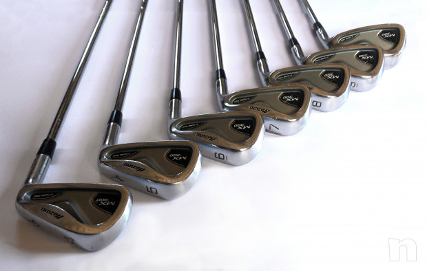 Set ferri golf Mizuno MX 300 acciaio 4-PW Regular Nippon N.S. PRO 950 foto-22331