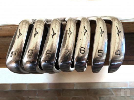Set ferri golf Mizuno MX 300 acciaio 4-PW Regular Nippon N.S. PRO 950 foto-43883