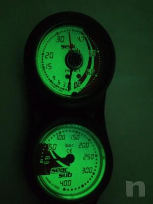 Console manometro e profondimetro seac sub foto-22427