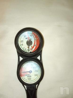 Console manometro e profondimetro seac sub foto-44107