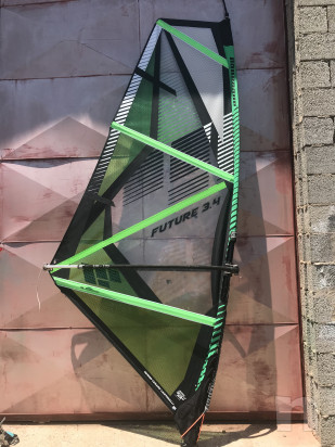 vela windsurf 3,4 mq per jr's o donna foto-22552