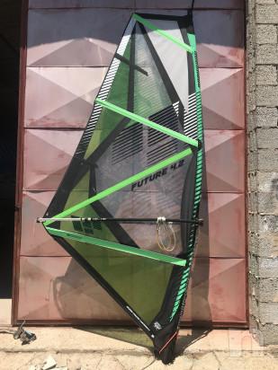 vela completa windsurf 4,2 per JR's o donna foto-22553