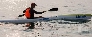 THINK ZEN-KEVLAR CARBONIO surfski / kayak da mare foto-22567