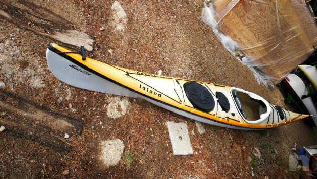 Kayak mare condizioni perfette accessoriato foto-22590