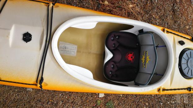 Kayak mare condizioni perfette accessoriato foto-44478