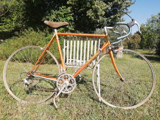 Bicicletta d'epoca artigianale foto-22594