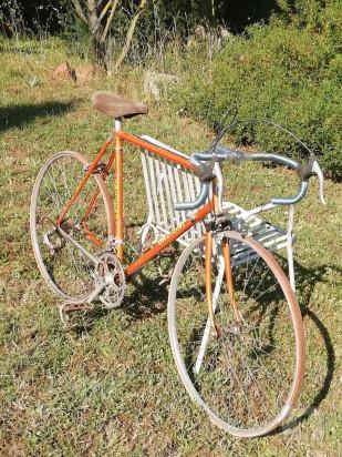 Bicicletta d'epoca artigianale foto-44485
