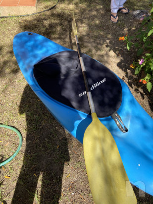 kajak da surf onda e fiume usato foto-44718