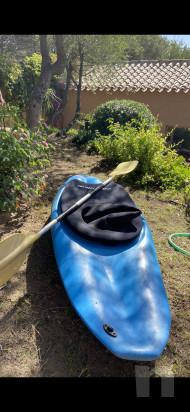 kajak da surf onda e fiume usato foto-44717