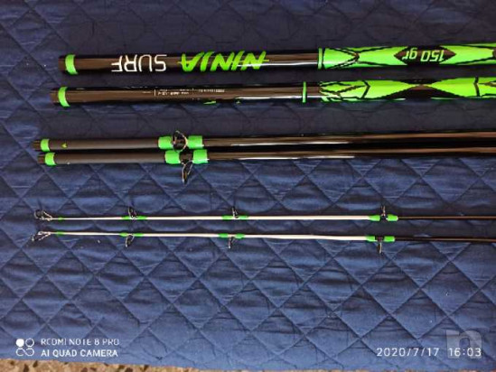 Vendo  2canne tre pezzi Veret Ninja  foto-44835