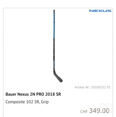 Bastone bauer nexus 2n pro  foto-44841