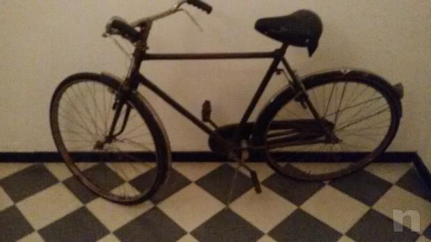 Bici Bianchi uomo classica anni '50 foto-22779