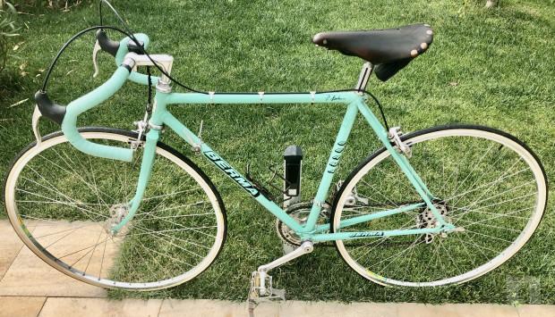 Bici vintage, corsa, anni 70, RECORD campagnolo foto-44958