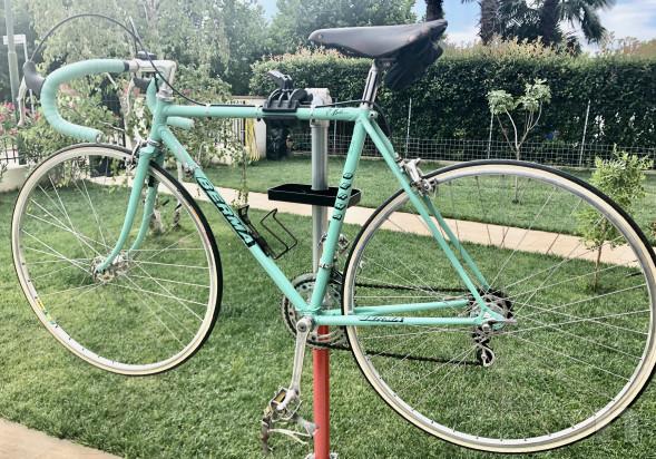 Bici vintage, corsa, anni 70, RECORD campagnolo foto-22790