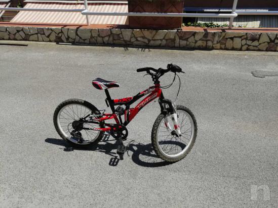 Bici 20, 6 marce, Bambino 7-9 anni, ammortizzata, come nuova foto-22842