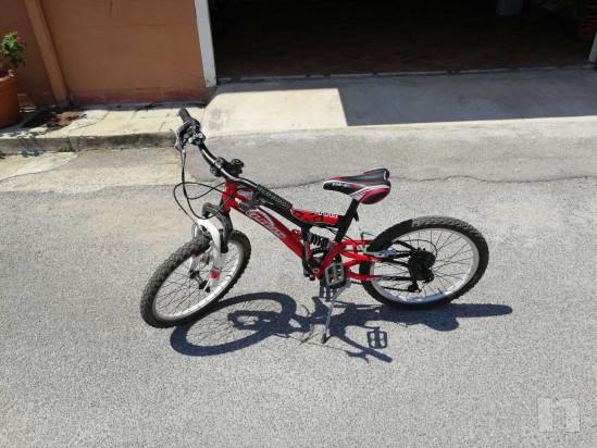 Bici 20, 6 marce, Bambino 7-9 anni, ammortizzata, come nuova foto-45067