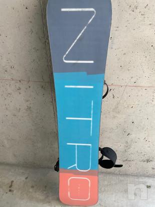 Vendo tavola snowboard usata pochissimo in ottime condizioni foto-45268