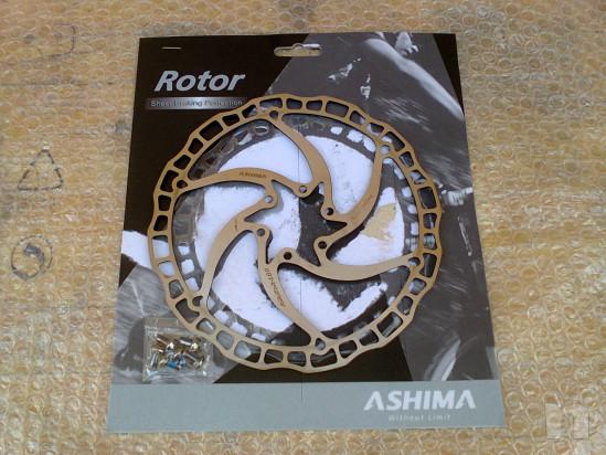 Disco Freno Ashima mod.Airotor ARO-08 dia 180mm 6Fori 100km ALL'ATTIVO foto-22932
