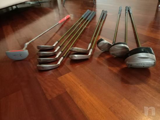 Sacca Golf Junior Usata per MANCINI con legni e ferri foto-45314
