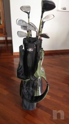 Sacca Golf Junior Usata per MANCINI con legni e ferri foto-45308