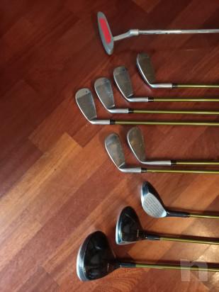 Sacca Golf Junior Usata per MANCINI con legni e ferri foto-45313