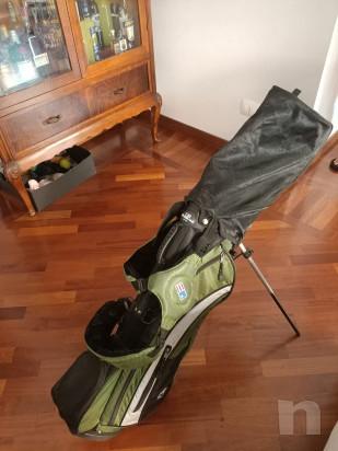 Sacca Golf Junior Usata per MANCINI con legni e ferri foto-22942