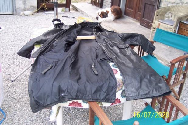 Equitazione Giacca lunga in vera pelle foto-45348