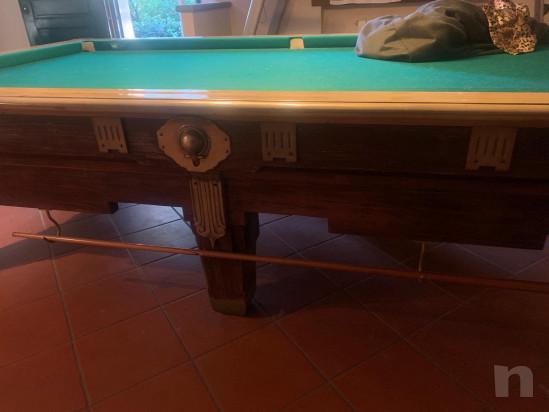 Tavolo da biliardo con buche foto-45356