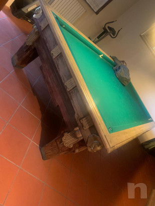 Tavolo da biliardo con buche foto-22965