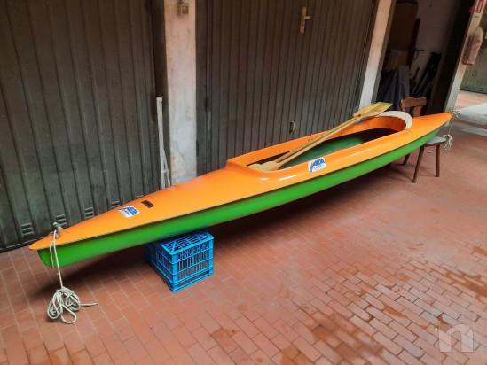 Canoa biposto in vetroresina modello Aloa foto-22981