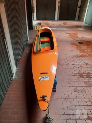 Canoa biposto in vetroresina modello Aloa foto-45380